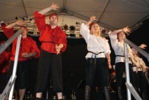 Auftritt bei der Pfingst-Wiesen 2009