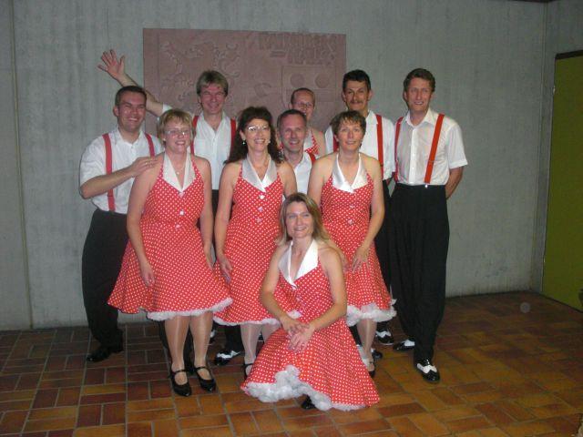 Crazy Steps Showgruppe in Wißgoldingen beim Herbstball 2009