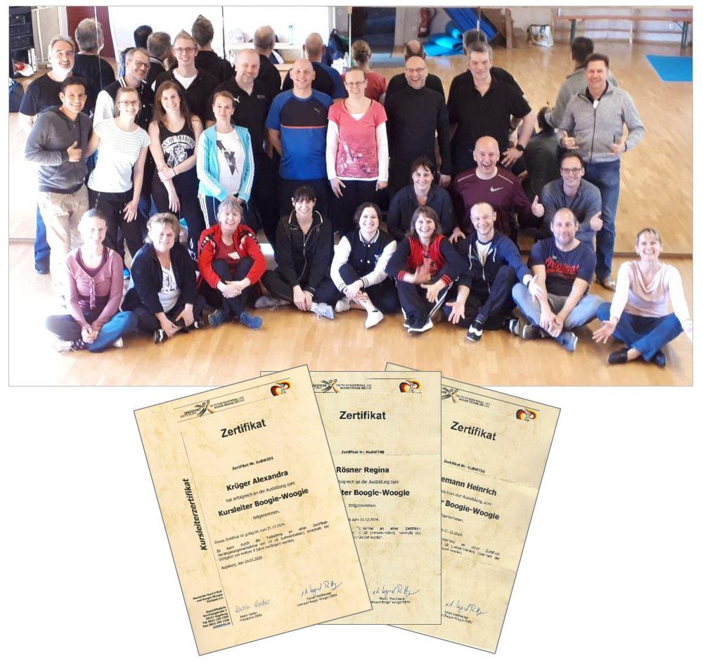 Teilnehmer Kursleiter-Schulung